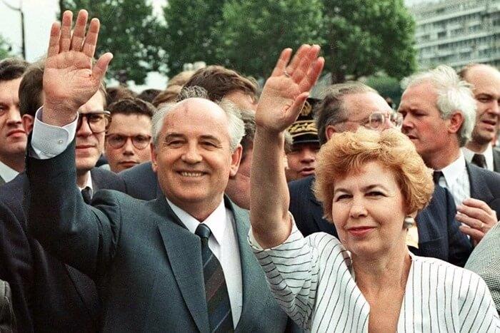 Раиса и Михаил Горбачев