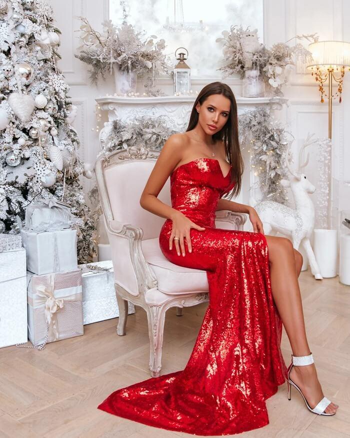 Красивые ноги модели Анастасии Решетовой