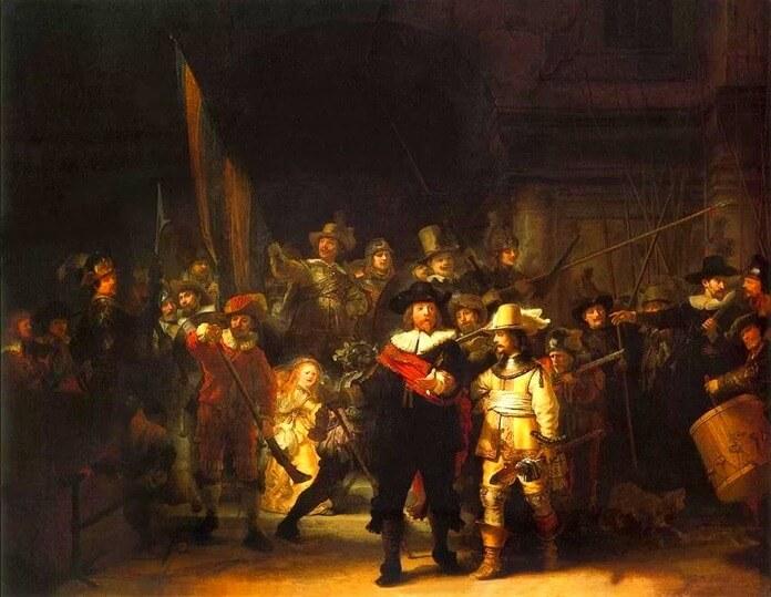 Ночной дозор, Рембрандт