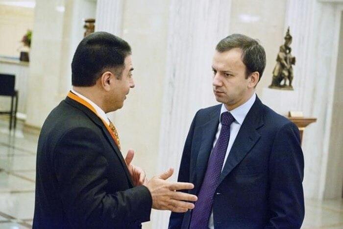 Азад Бабаев и Аркадий Дворкович