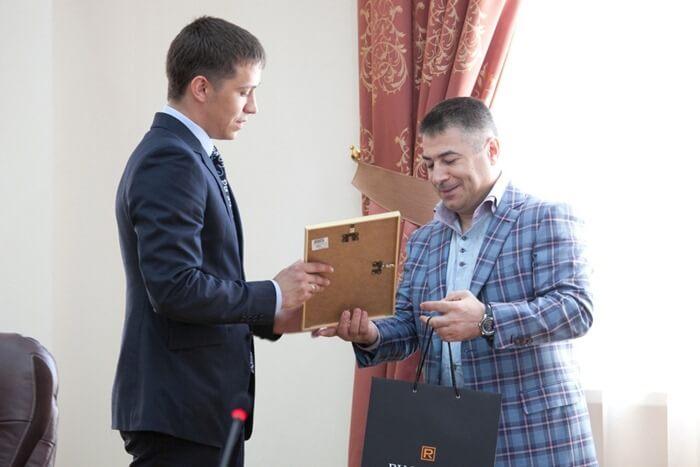 Азад Бабаев в родном вузе