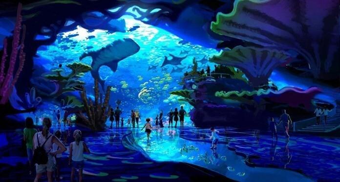 В Китае находится самый большой океанариум в мире