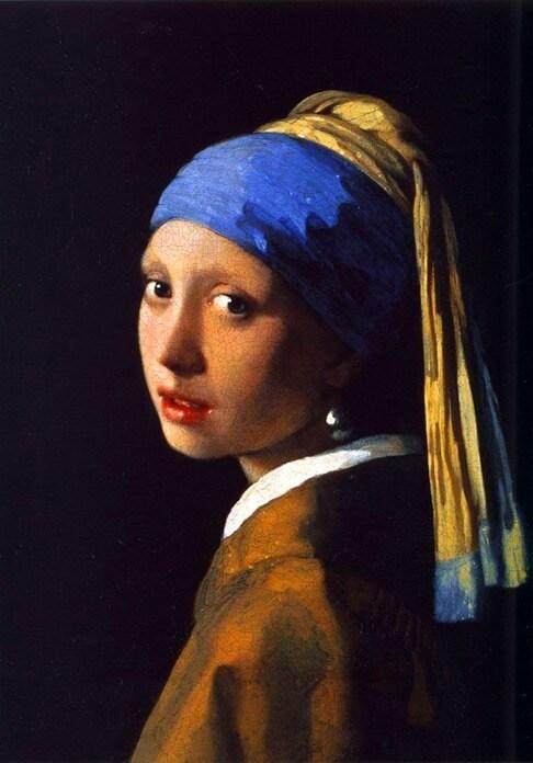 Девушка с жемчужной серёжкой, Ян Вермеер