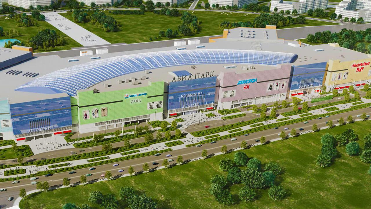 Крупнейшие торговые центры Москвы