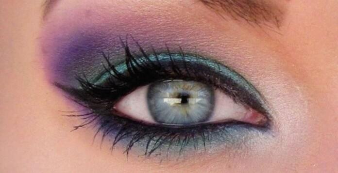 Красочный макияж