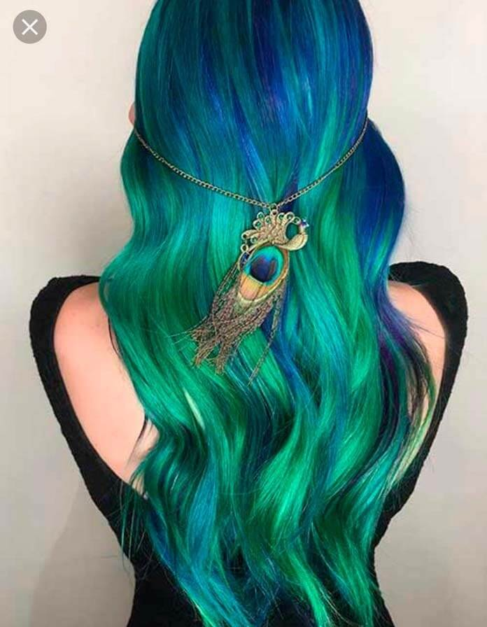 Волосы русалки
