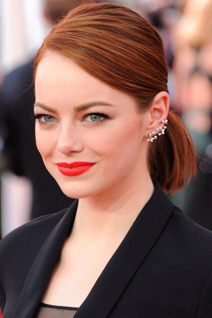 Seriously Short Hairstyle Emma Stone