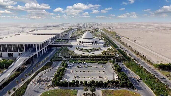 Самый большой аэропорт в мире по площади