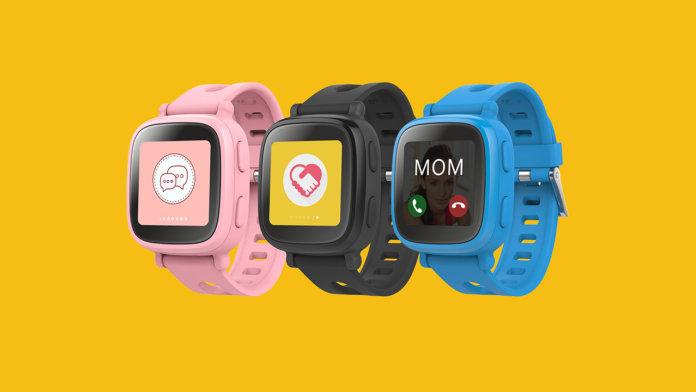Детские часы GPS-трекер