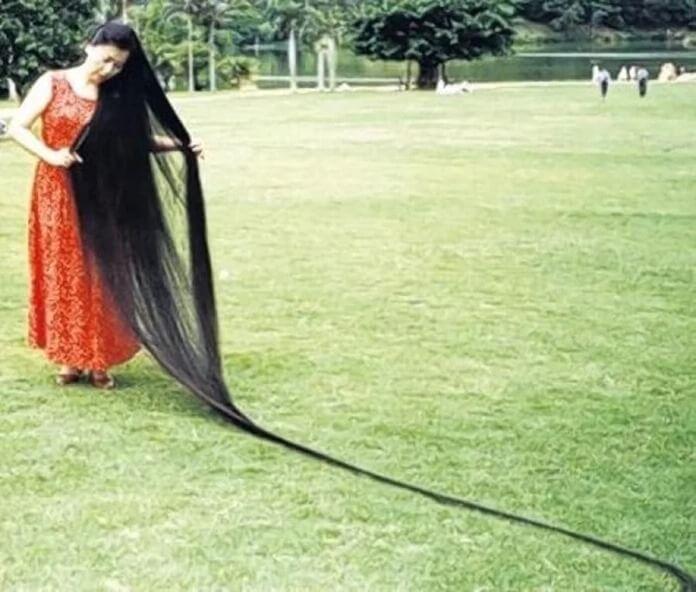 Се Цюпин – самые длинные женские волосы в мире