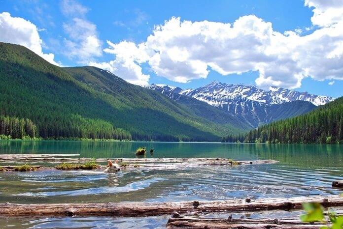 Большое медвежье озеро, Канада