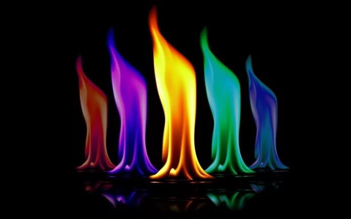 Цвета пламени