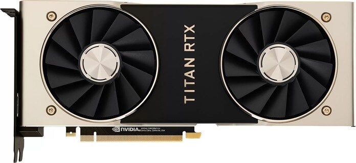 Nvidia Titan RTX лучшая видеокарта 2019 года