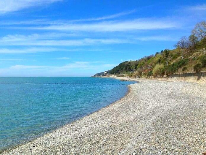 Дагомысcкий пляж, Большой Сочи