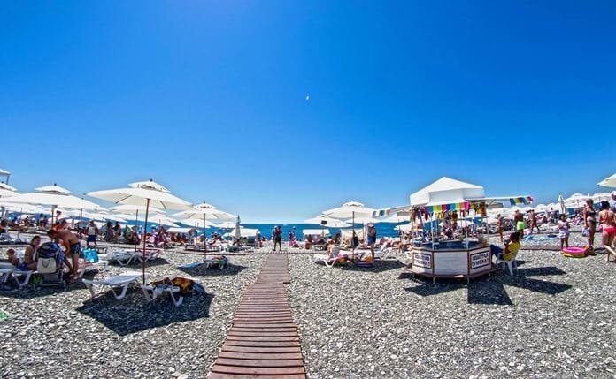 Имеретинский пляж, Сочи, Краснодарский край