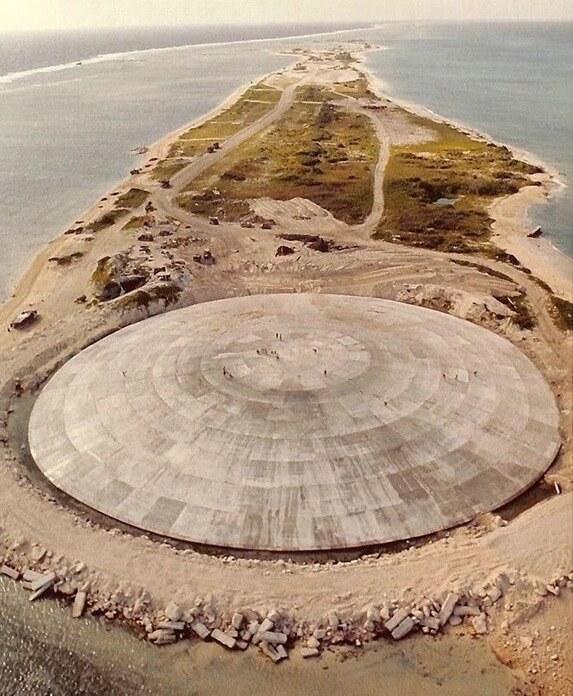 Саркофаг ядерных отходов, США