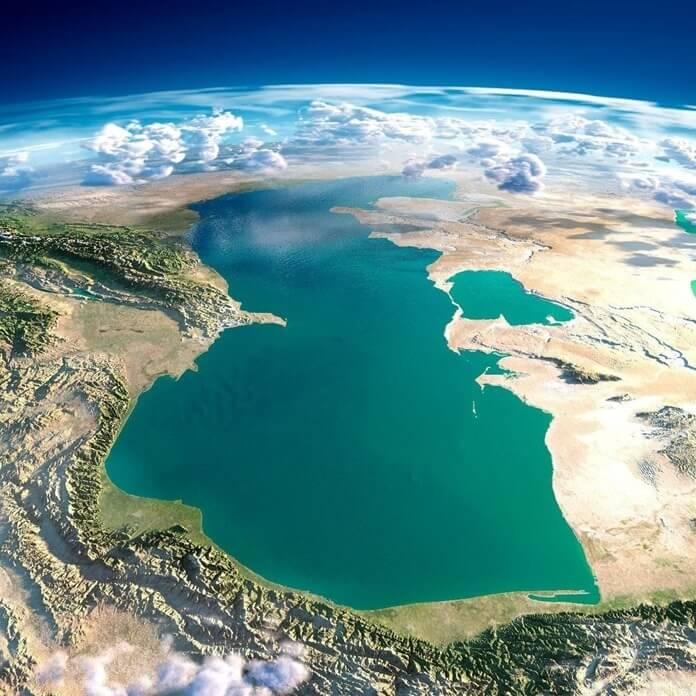 Каспийское море – самое большое озеров мире