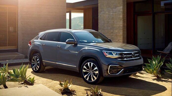 2020 Volkswagen Atlas Cross Sport Rolls