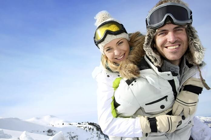 Поездка на двоих на зимний курорт