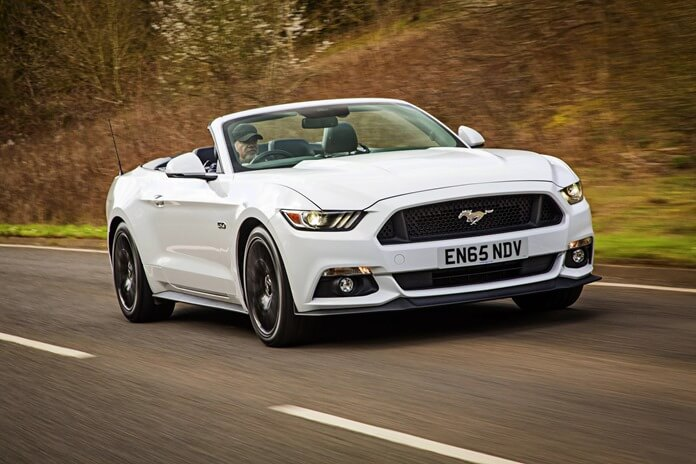 Ford Mustang V8 GT Convertible