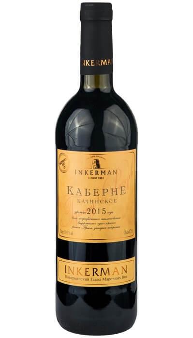 Inkerman Каберне качинское – лучшее красное вино 2019 года