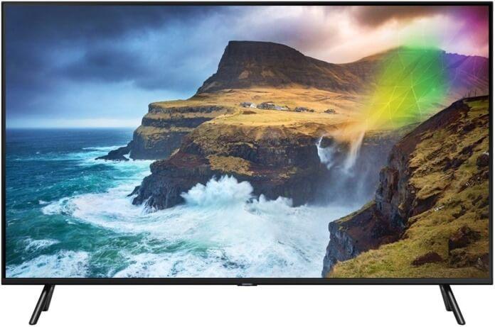 Samsung QE55Q70RAU лучший телевизор 55 дюймов