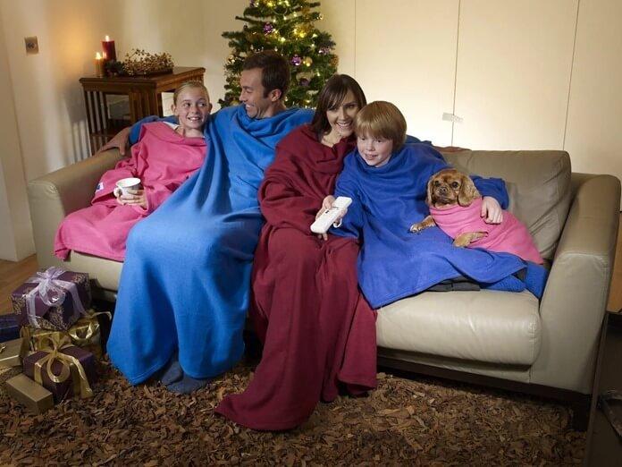 Теплый халат и (или) одеяло