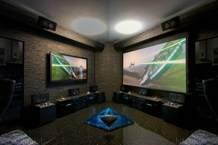 Телевизор или проектор – что лучше, наглядное сравнение