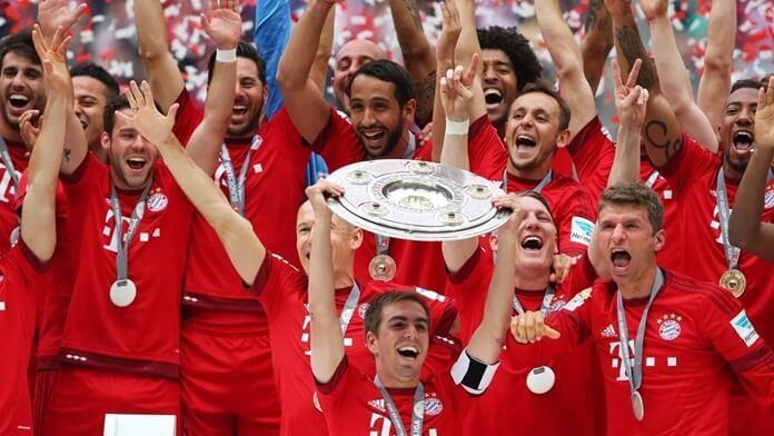 Bayern Munich (2014) 2 место в мире по рейтингу Эло