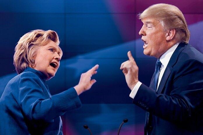 Хиллари Клинтон vs Дональд Трамп