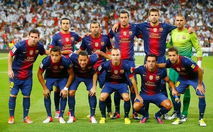 Barcelona (2012) – по статистике лучшая футбольная команда в мире