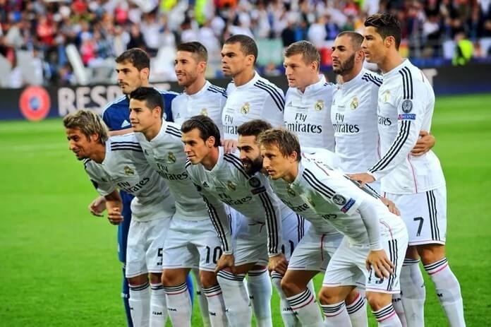 Real Madrid (2014) – бронза в рейтинге футбольных команд мира