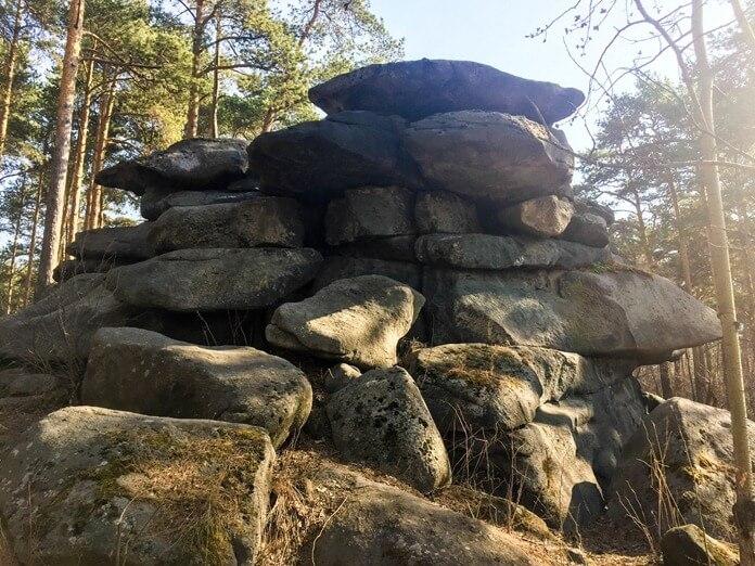 Шарташские каменные палатки 2