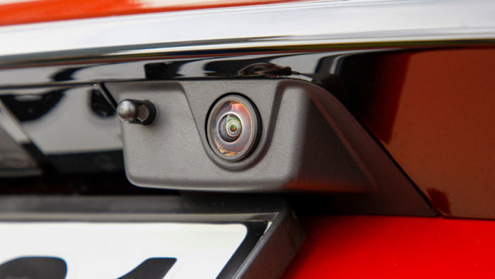 Car rear view cam
