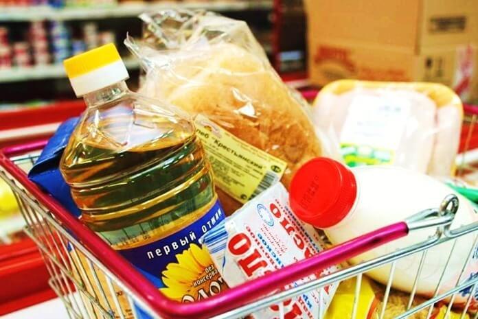 Перечень продуктов питания первой необходимости