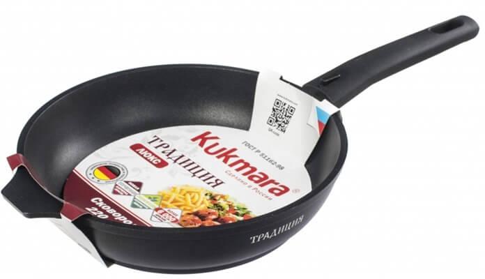 Kukmara лучшая сковорода с антипригарным покрытием