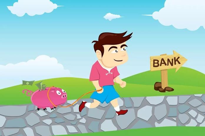 Идите в банк