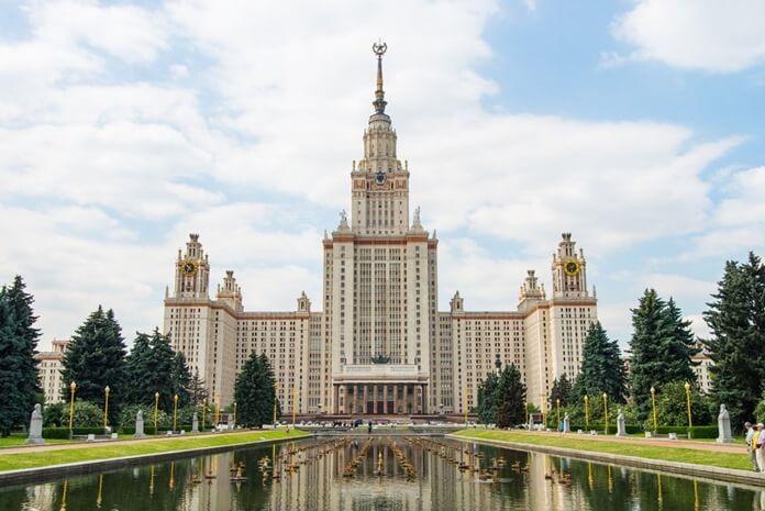Лучший российский университет 2020 года – МГУ