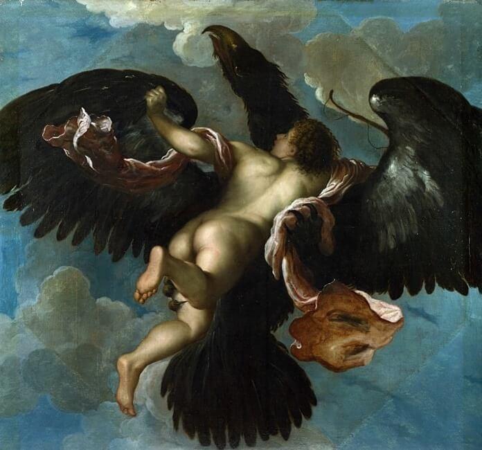 Дамиано Мацца, «Похищение Ганимеда»