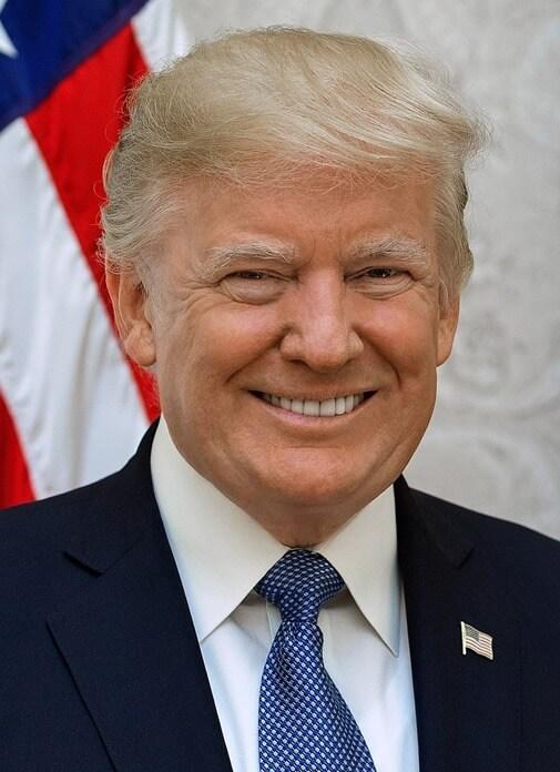 кандидат от Республиканской партии: Дональд Трамп
