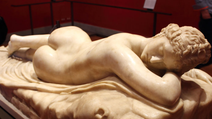 Sleeping-Hermaphroditus