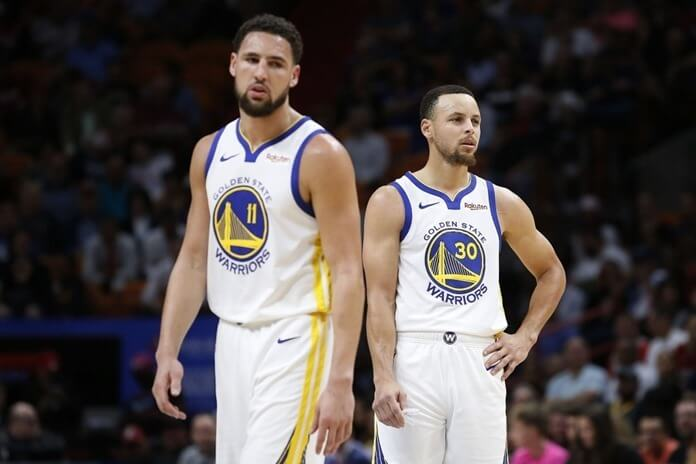 Stephen Curry and Clay Thompson | Most expensive NBA duos in 2020