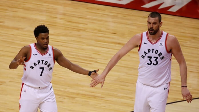 Kyle Lowry and Mark Gasol | Most expensive NBA duos in 2020