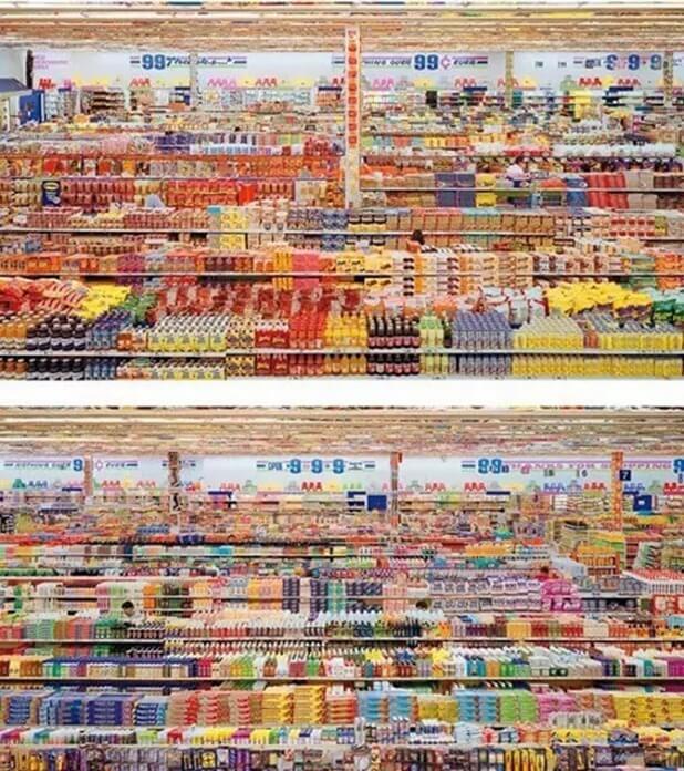 «99 центов. Диптих», Андреас Гурски