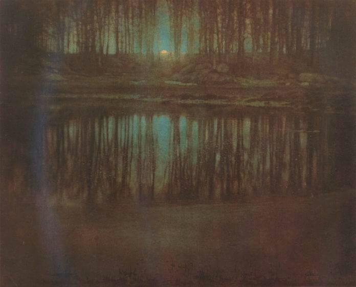 «Озеро в лунном свете», Эдвард Стайхен