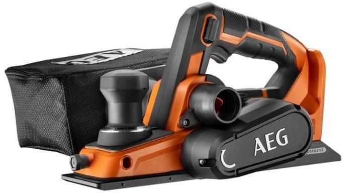 AEG BHO18BL-0 – лучший аккумуляторный рубанок