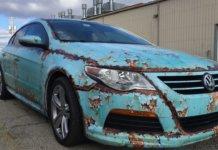 Ржавое авто