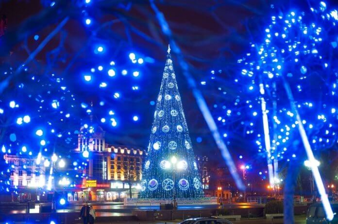 Новогодний Калининград