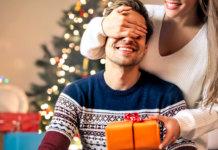 Новогодние подарки парню
