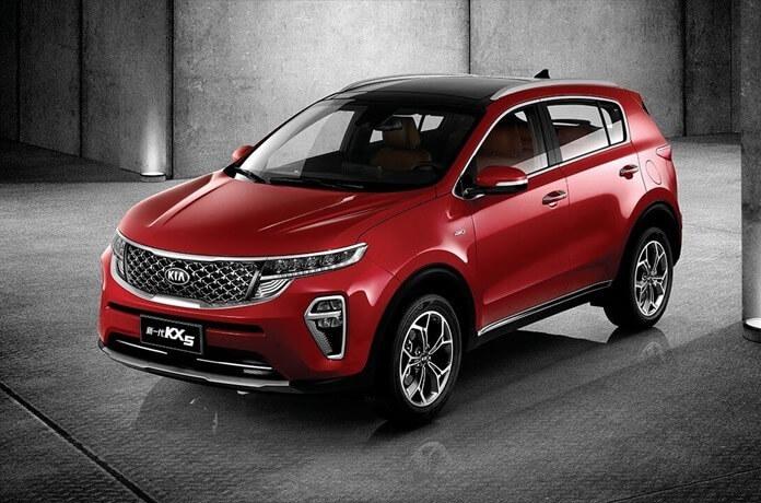 Kia Sportage 2021 фото нового поколения